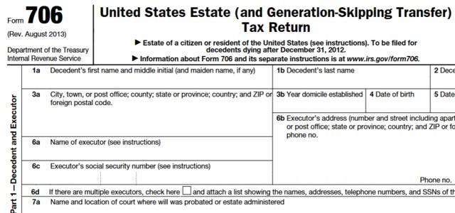 Understanding The Estate Tax Return Marotta On Money