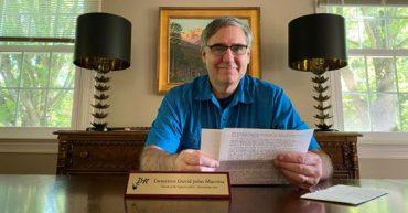 David John Marotta Honored in Dear Holmes Mystery